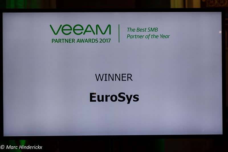award Veeam euroSys