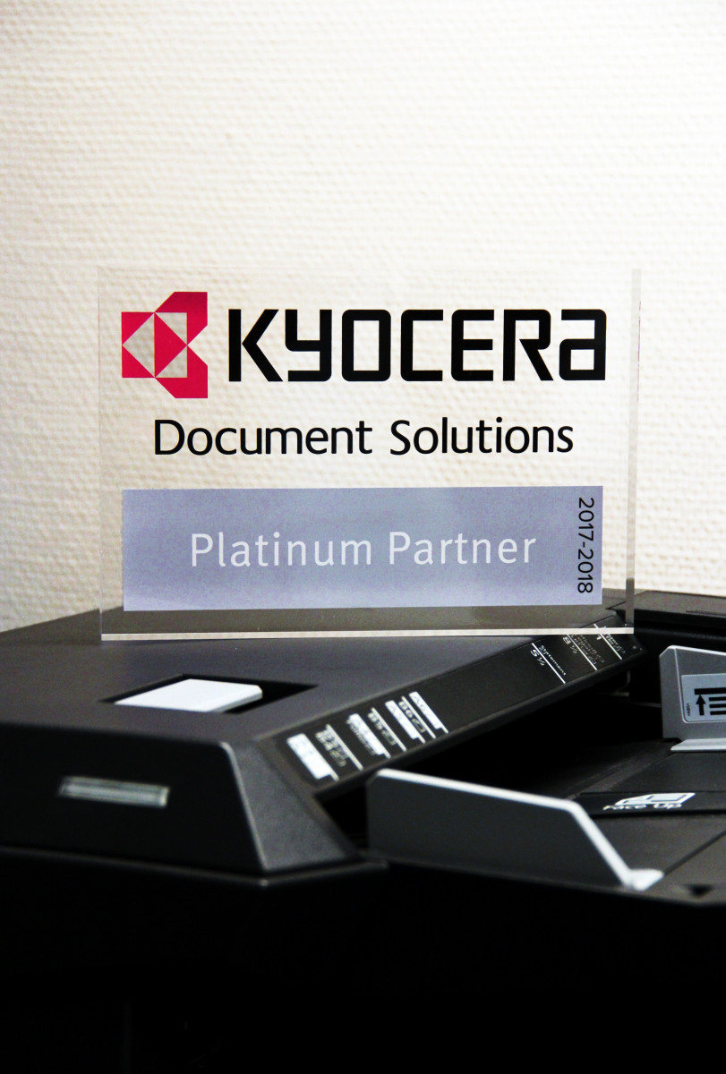 award platinum partner KYOCERA
