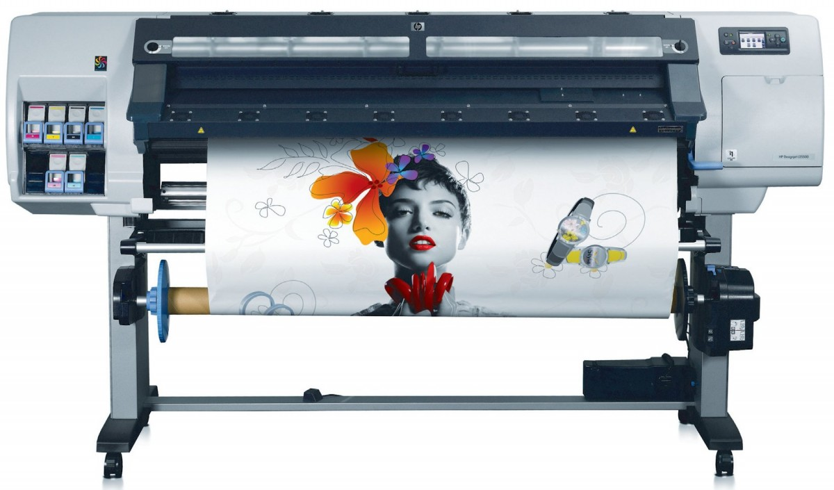 HP latex format printers