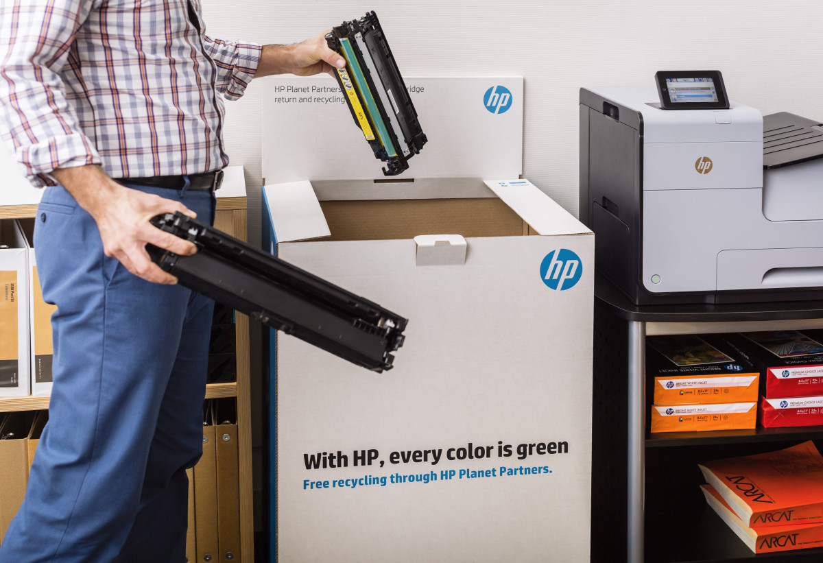eurosys HP recyclage inkt cartridges