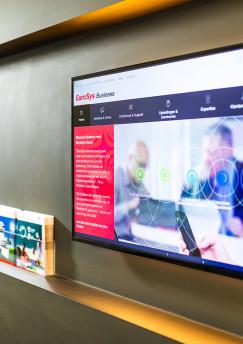 Enplug digital signage EuroSys