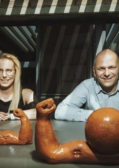 Sonja Palmans en Mark Aerts