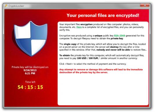 Cryptolockers