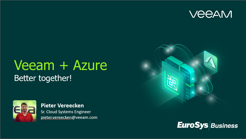 Veeam back-up for microsoft azure